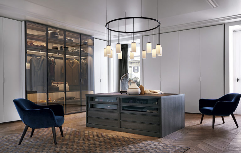Poliform | sagartstudio - closets - Senzafine island