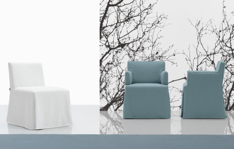 Poliform | sagartstudio - chairs - Velvet / velvet due